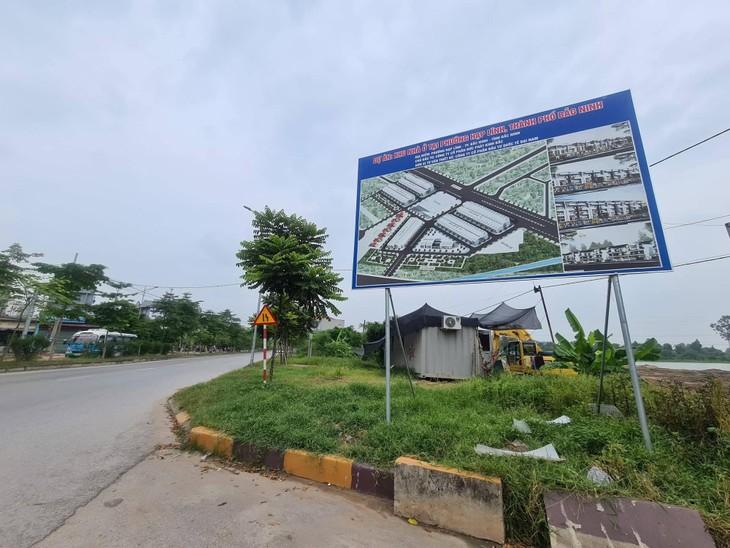 Khu đất Dự án Khu nhà ở phường Hạp Lĩnh, TP. Bắc Ninh của Công ty CP Đức Phát Kinh Bắc