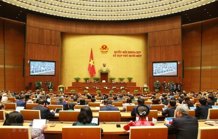Kỳ họp thứ 11 Quốc hội khóa XIV. Ảnh: TTXVN