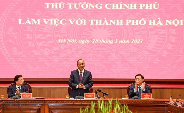 """Theo Thủ tướng Nguyễn Xuân Phúc, câu nói """"Hà Nội không vội được đâu"""" đã ít được nhắc tới"""