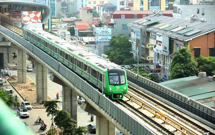 Bắt đầu bàn giao Dự án Đường sắt Cát Linh - Hà Đông. Ảnh Internet