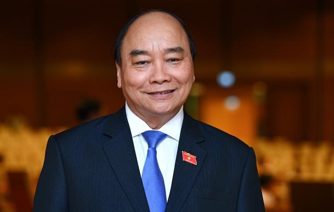 Ông Nguyễn Xuân Phúc, Thủ tướng nhiệm kỳ 2016-2021, được giới thiệu làm Chủ tịch nước. Ảnh: Giang Huy
