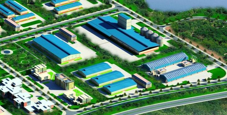 Đầu tư hơn 3.226 tỷ đồng xây dựng khu công nghiệp sạch Sóc Sơn quy mô gần 303 ha