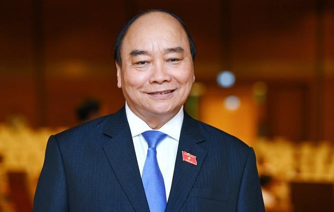 Ông Nguyễn Xuân Phúc được bầu giữ chức Chủ tịch nước. Ảnh: Giang Huy