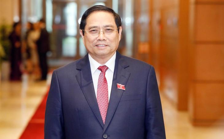 Trưởng ban Tổ chức Trung ương Phạm Minh Chính được đề cử để Quốc hội bầu làm Thủ tướng