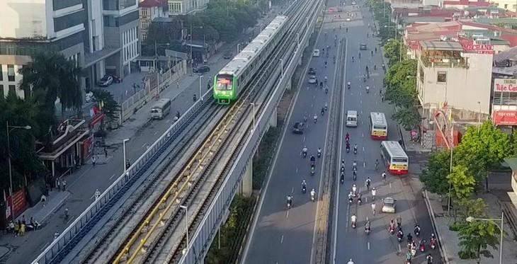Đường sắt Cát Linh - Hà Đông chạy 6 phút/chuyến