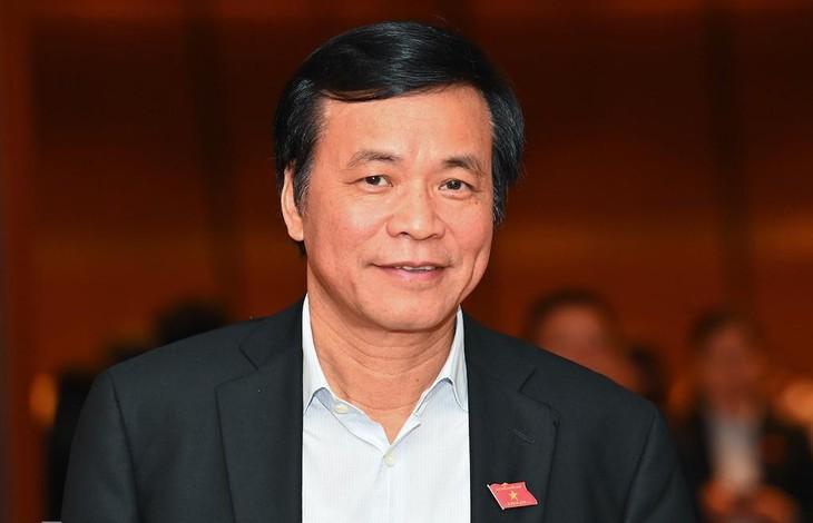 Tổng thư ký, Chủ nhiệm Văn phòng Quốc hội Nguyễn Hạnh Phúc. Ảnh: Giang Huy