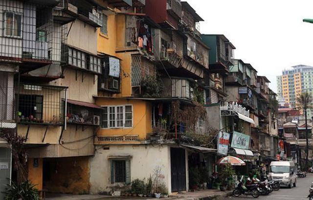 Cải tạo chung cư cũ quận Ba Đình được phép tăng tầng cao (ảnh minh họa).