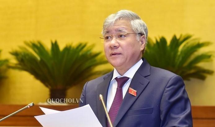 Ông Đỗ Văn Chiến, Bí thư T.Ư Đảng được Bộ Chính trị chỉ định giữ chức Bí thư Đảng đoàn MTTQ Việt Nam