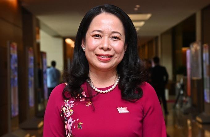 Tân Phó chủ tịch nước Võ Thị Ánh Xuân. Ảnh: Giang Huy
