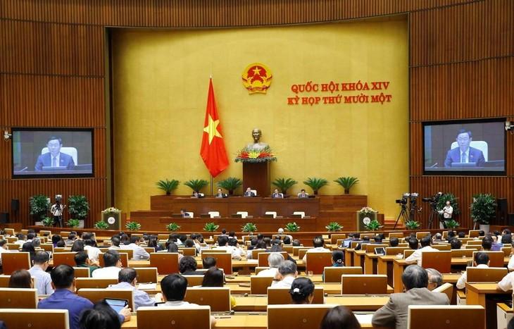 Chiều ngày 8/4, Kỳ họp thứ 11, Quốc hội khóa XIV sẽ bế mạc. Ảnh:TTXVN