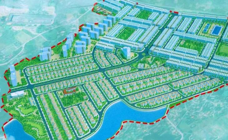 Phối cảnh Dự án Khu đô thị mới Thanh Minh, thị xã Phú Thọ