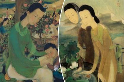 12 siêu phẩm hội họa Việt đắt giá nhất trên thị trường đấu giá quốc tế