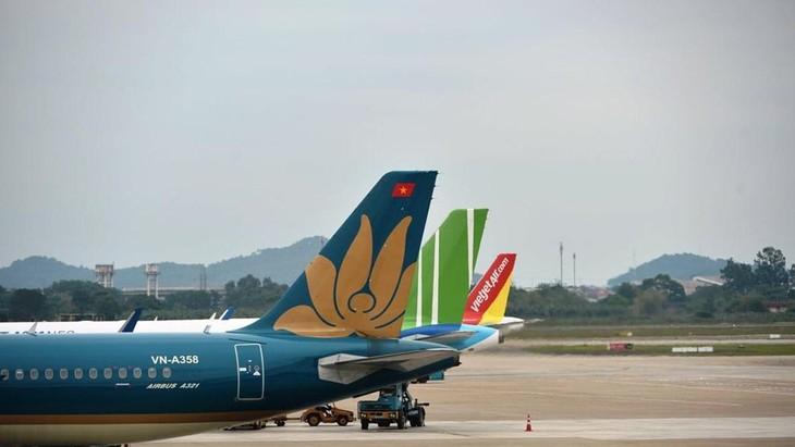 Các hãng hàng không đã tăng tải bay trong dịp nghỉ lễ 30/4 và 1/5. Ảnh: CTV/Vietnam+