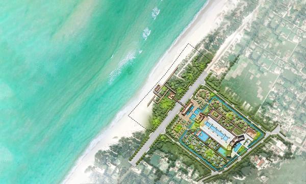Phối cảnh dự án Khu Dịch vụ - Du lịch Gio Hải (Giai đoạn 1)