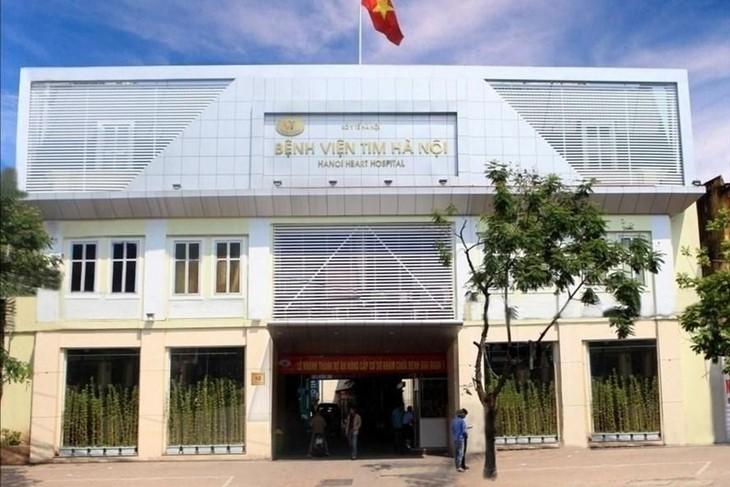Bệnh viện Tim Hà Nội. Ảnh: BVTHN
