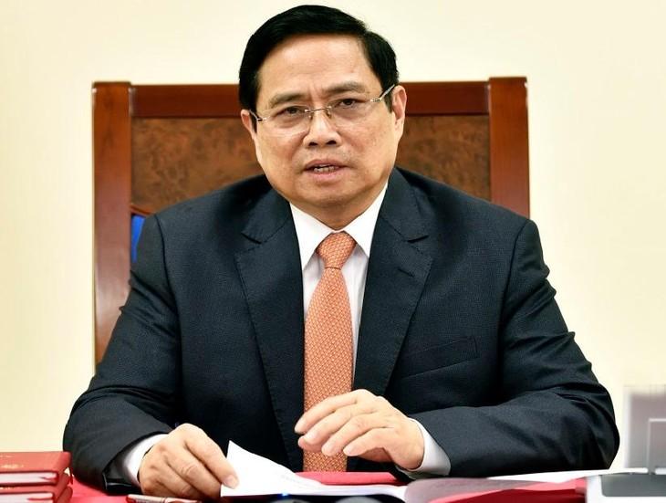 Thủ tướng Chính phủ Phạm Minh Chính.