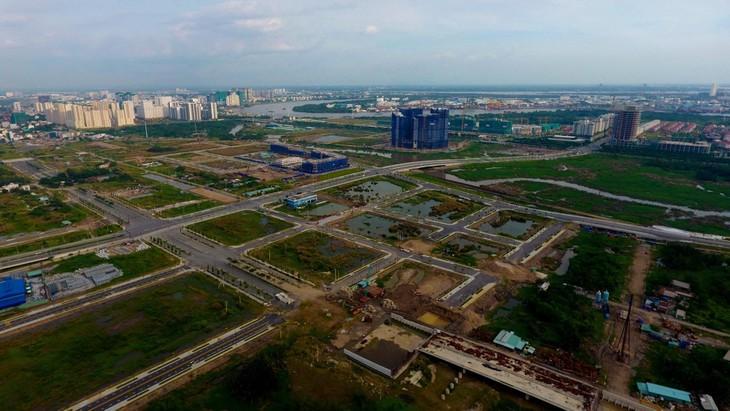 Đất phân lô trong khu đô thị mới Thủ Thiêm