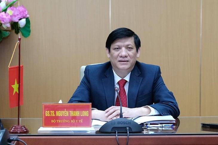 GS.TS Nguyễn Thanh Long: Nguy cơ Covid-19 xâm nhập vào nước ta rất cao, hết sức đáng quan ngại. Ảnh: Trần Minh