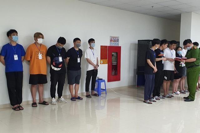 Số đối tượng người Trung Quốc nhập cảnh trái phép, cư trú tại khách sạn cao cấp trên địa bàn quận Nam Từ Liêm