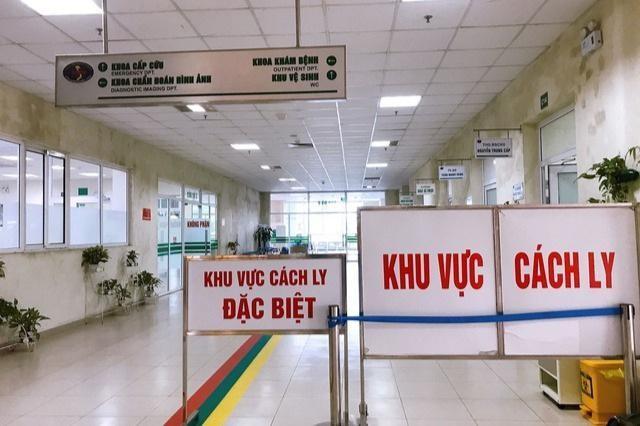 Khu vực cách ly đặc biệt tại Bệnh viện Bệnh nhiệt đới Trung ương.
