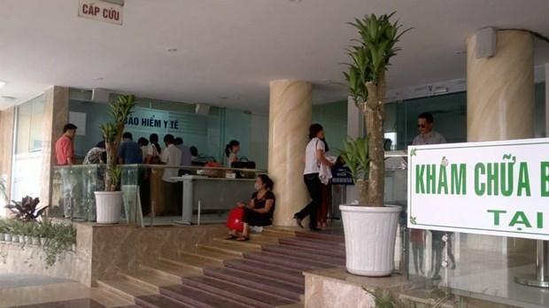 Bệnh viện Bệnh Nhiệt đới Trung ương cơ sở 78 Giải Phóng. Ảnh: PV/Vietnam+