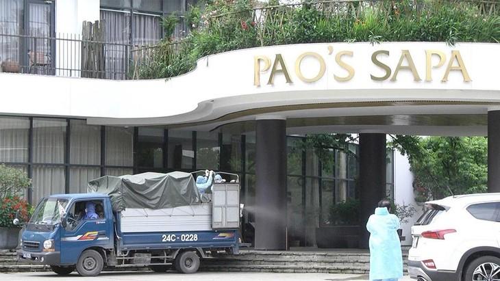 Khách sạn Pao's Sapa Leisure, nơi chị P.T.T.H (Đà Nẵng) lưu trú từ ngày 30/4 – 2/5 khi đi du lịch tại Sa Pa