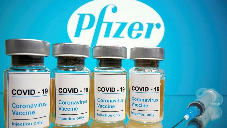 Việt Nam sẽ có 31 triệu liều vaccine của Pfizer được cung cấp vào quý III và quý IV trong năm 2021. Ảnh: Reuters