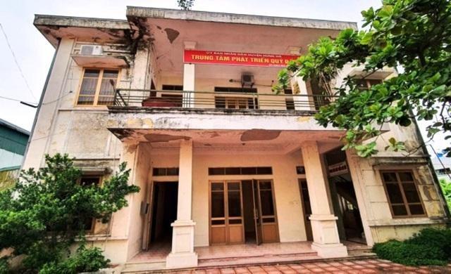 Trung tâm Phát triển quỹ đất huyện Hưng Hà, tỉnh Thái Bình.