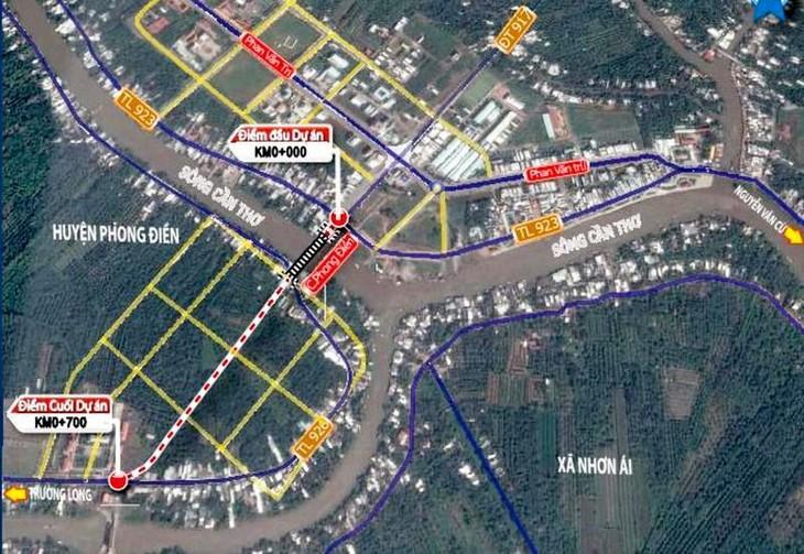 Dự án Cầu Tây Đô thuộc huyện Phong Điền