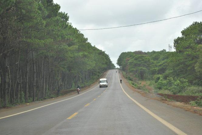 Quốc lộ qua Tây Nguyên với một số đoạn chưa đảm bảo chất lượng