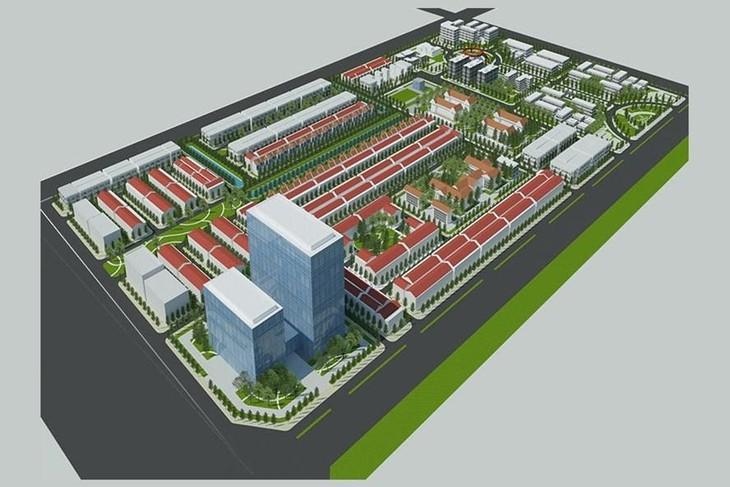 Phối cảnh Dự án Khu đô thị mới và Khu công nghệ thông tin tập trung TP. Cần Thơ