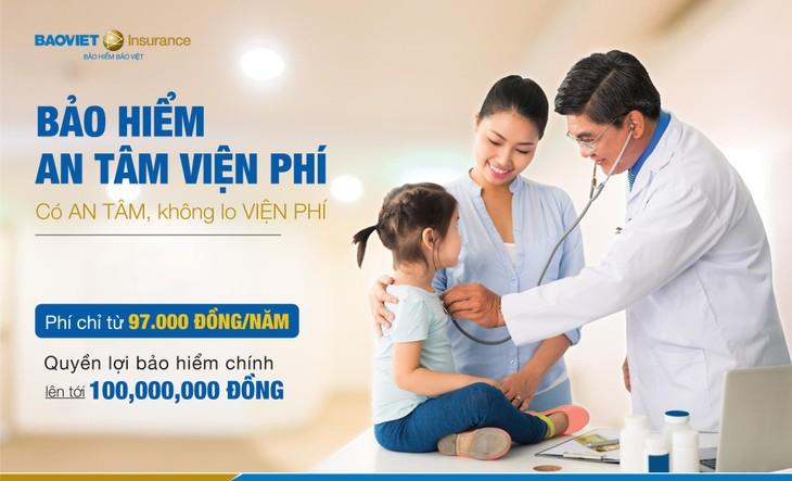 """Bảo hiểm Bảo Việt tối ưu hóa lợi ích cho khách hàng tham gia Bảo hiểm """"An Tâm Viện Phí"""""""