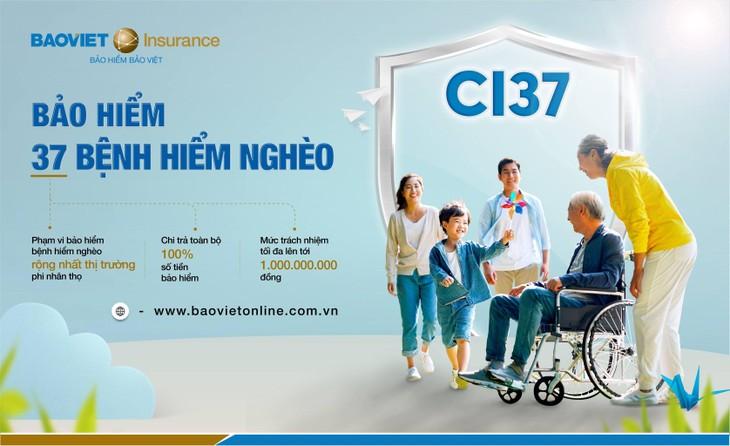 Bảo hiểm Bảo Việt triển khai Bảo hiểm 37 bệnh hiểm nghèo - CI37