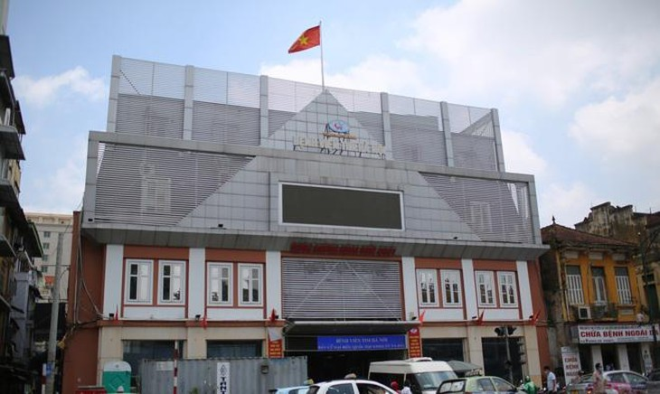 Bệnh viện Tim Hà Nội.