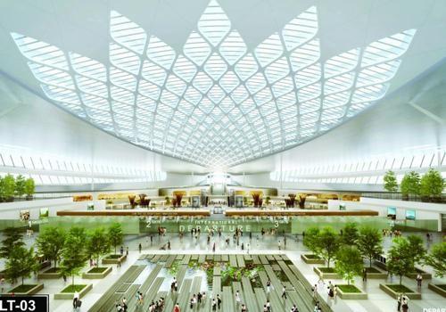 Chỉ định nhà thầu lập thiết kế và dự toán ga hành khách sân bay Long Thành