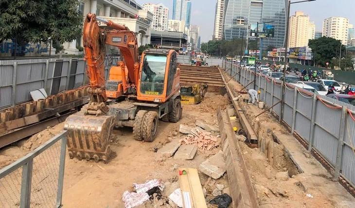 Dự án hầm chui Lê Văn Lương - công trình trọng điểm giảm ùn tắc gia thông Hà Nội