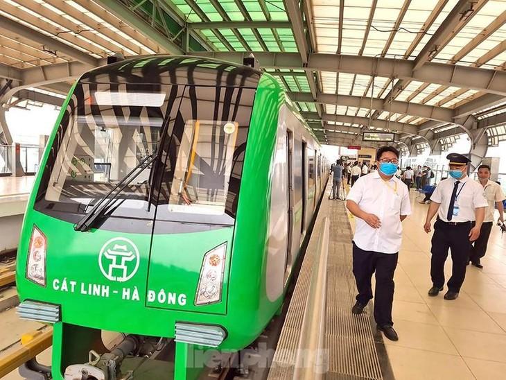 Đường sắt Cát Linh - Hà Đông được chủ đầu tư áp sai định mức nhân công, làm tăng chi phí hơn 222 tỷ đồng.