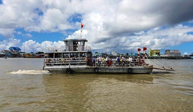 Cầu qua sông Ông Đốc có chiều dài dự kiến 1,422 km. Ảnh chỉ mang tính minh họa. Nguồn Internet