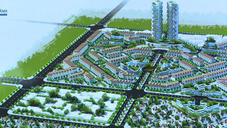 Phối cảnh dự án Phát triển nhà ở thương mại Khu dân cư phía Đông đường Võ Nguyên Giáp, phường Hoàng Diệu, TP. Thái Bình