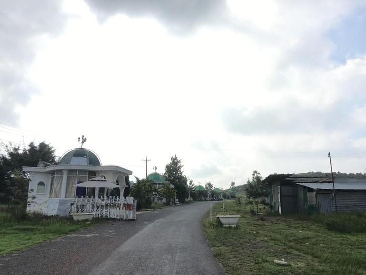 Cổng vào dự án của Công ty Sài Gòn - Đại Ninh