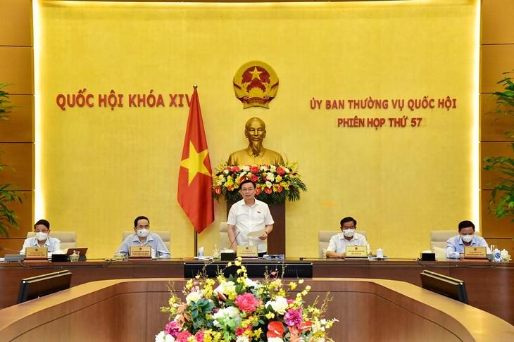 Phiên họp 57 của Ủy ban Thường vụ Quốc hội