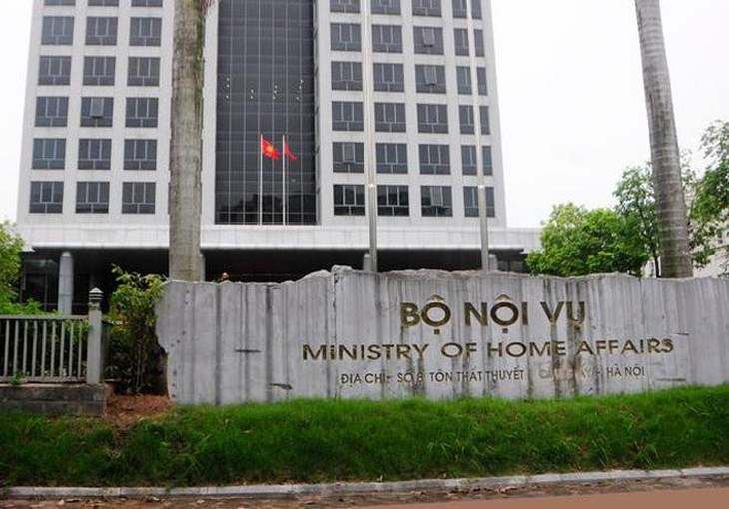 Trụ sở Bộ Nội vụ.