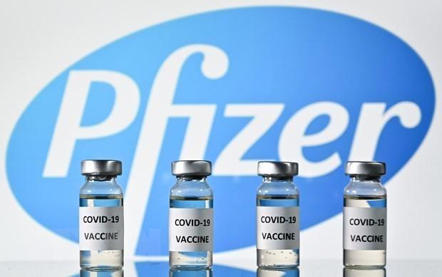Vaccine ngừa COVID-19 do Pfizer và BioNTech phối hợp phát triển. Ảnh: AFP/TTXVN