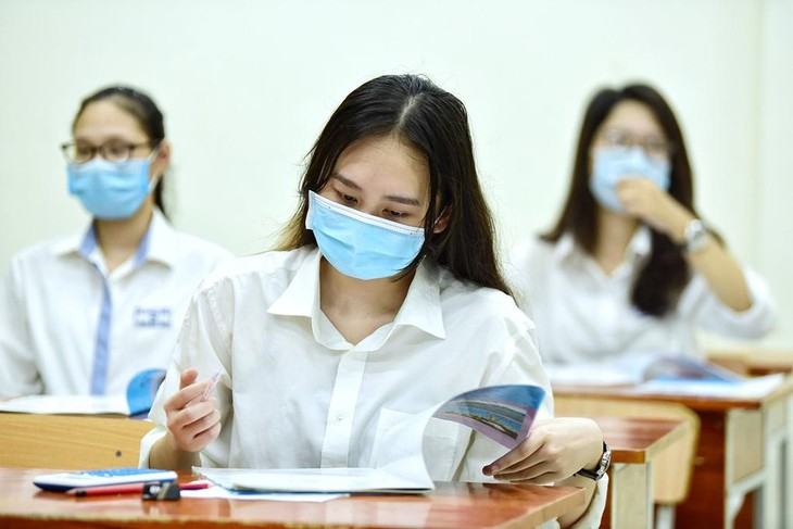 Dự kiến kỳ thi tốt nghiệp THPT đợt 2 sẽ diễn ra vào các ngày từ 5-7/8/2021.. Ảnh Giang Huy