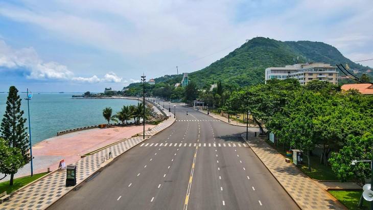 Thủ tướng quyết định giãn cách theo Chỉ thị 16 với 19 tỉnh, thành phía Nam. Ảnh: Báo Bà Rịa - Vũng Tàu