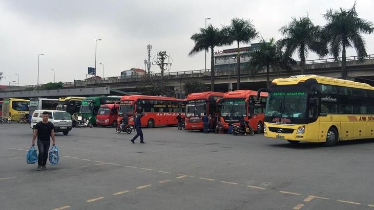 Hà Nội tạm dừng chở khách đến 37 tỉnh, thành thành phố từ ngày 18/7