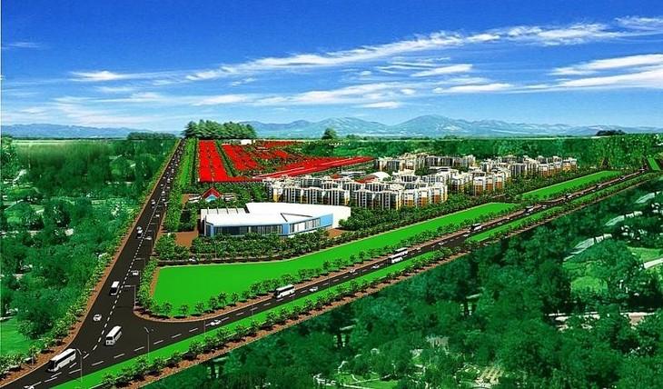 Phối cảnh phân khu 1 của khu dân cư, khu tái định cư Lộc An – Bình Sơn huyện Long Thành.