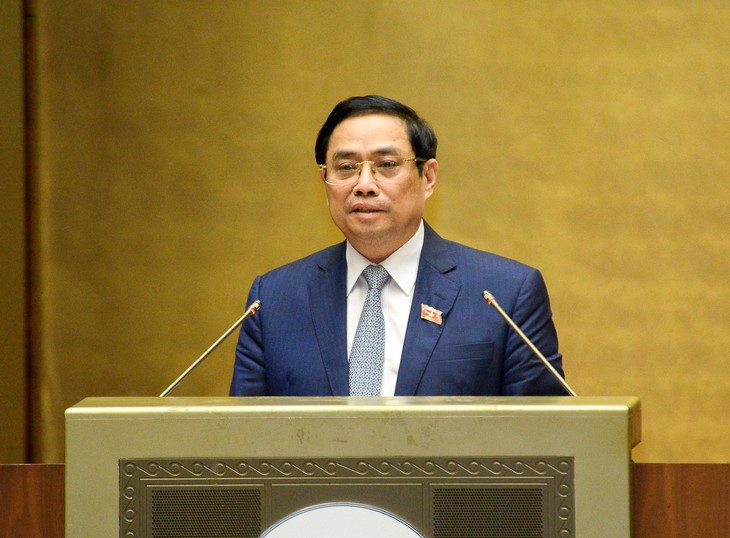 Thủ tướng Chính phủ nhiệm kỳ 2016-2021 Phạm Minh Chính sẽ trình bày Báo cáo giải trình, tiếp thu ý kiến của đại biểu Quốc hội về cơ cấu tổ chức của Chính phủ nhiệm kỳ 2021-2026.
