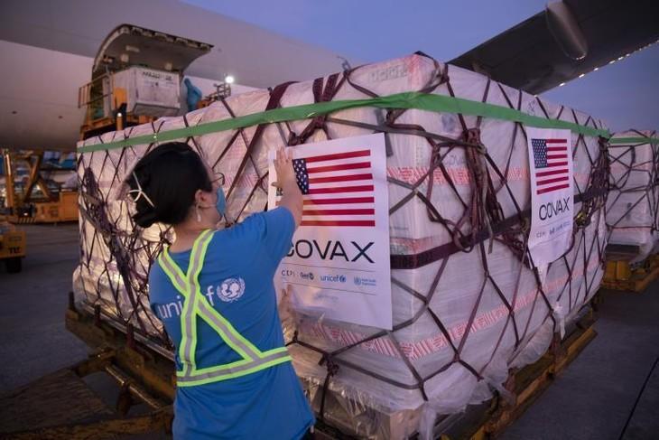 Thêm 3 triệu liều vaccine Moderna do Chính phủ Hoa Kỳ hỗ trợ thông qua Cơ chế COVAX đã về đến Việt Nam