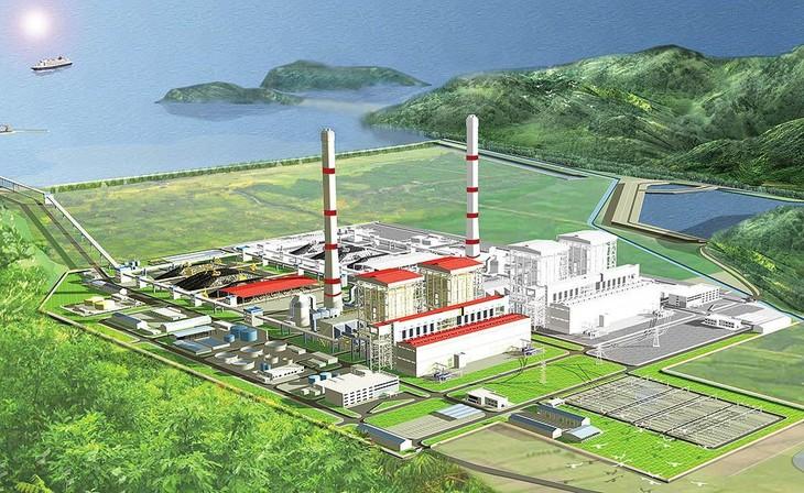 Phối cảnh Dự án Nhà máy Nhiệt điện Quảng Trạch I